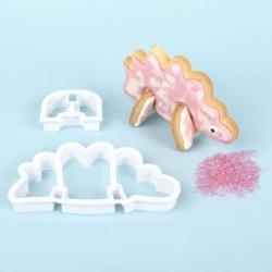 Stegosaurus 3D Standing Cookie Cutter