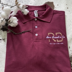 Built Tough range – Men's maroon Polo Shirt ( embroidered)