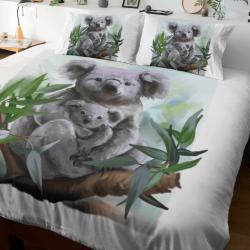 Aussie Koala Quilt cover set, Single, King Single, Double, Queen, King