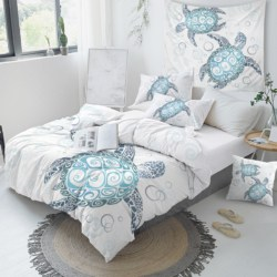Blue Turtles Quilt cover set, Single, King Single, Double, Queen, King