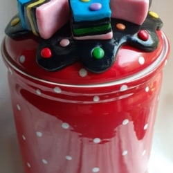 Licorice Allsorts Lolly or Biscuit Canister