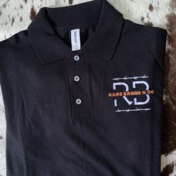 Built Tough range – Mens black Polo Shirt ( embroidered)