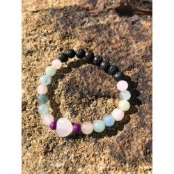 Kid's Heart of the Rainbow bracelet