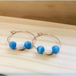 Sky Magic earrings