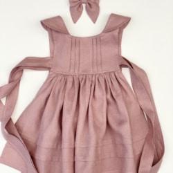 Vera Dress and Pinafore Set