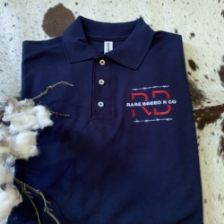 Built Tough Range – Mens navy Polo Shirt ( embroidered)