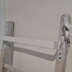 White Washed Painters Ladder