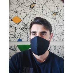 Adult Face Mask – Black