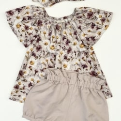 Milly Blouse and Bloomers Set
