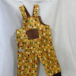 Toddlers Winter Bib & Brace Overalls