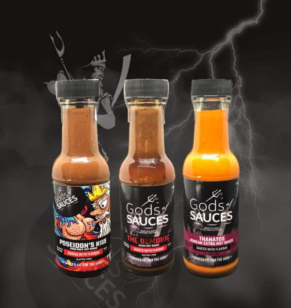 HOT SAUCE 3 GIFT PACK