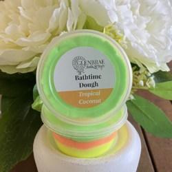 Bathtime Dough – Tropical Coconut