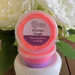 Bathtime Dough – Black Raspberry and Vanilla