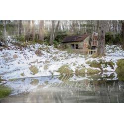 Mount Delusion Hut | Framed or Canvas Artwork | Australian Photography