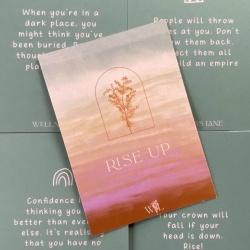 Rise Up Affirmation Cards