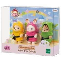 Sylvanian Families – 5616 Limited Edition – Baby Trio Ninja