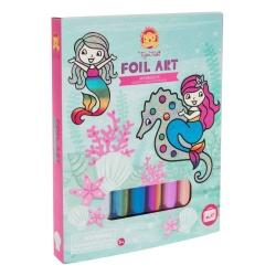 Tiger Tribe Foil Arts & Crafts Kit – Mermaids