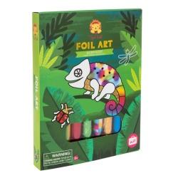 Tiger Tribe – Foil Art Craft Kit – Rainforest