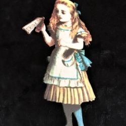 Alice and Magic Potion Brooches / Pins / Embellishments