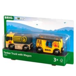 BRIO World 33907 Tanker Truck with Hose Wagon
