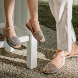 Mini & Women's Glitter Avarcas