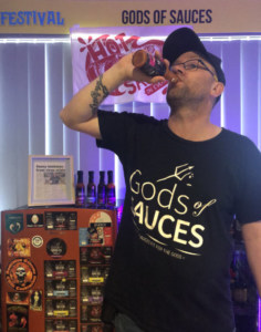 Meet Gods of Sauces – Che Cooper and his award Winning Hot Sauces from Albany