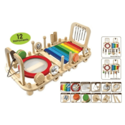 I'm Toy Melody Bench & Wall Toy – Musical Instrument Activity Set
