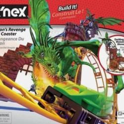 K'nex – Dragon's Revenge Thrill Coaster – motorised building set