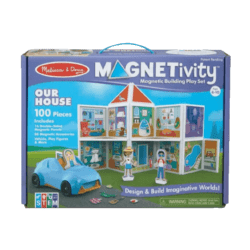 Melissa & Doug Magnetivity Our House magnetic toy activity set
