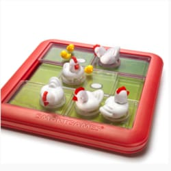 SmartGames – Chicken Shuffle Jr – 1 player game logic puzzle