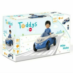 Toddys by Siku – Mike Moby – click & play blue car toy