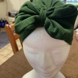 Baby Hat in Olive Green