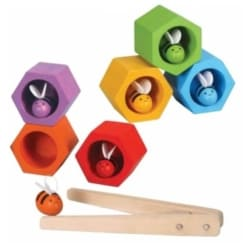 PlanToys Beehives sustainable wooden game