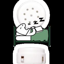 Snoring noise insert